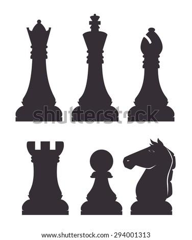 Chess design, vector illustration eps 10. - stock vector