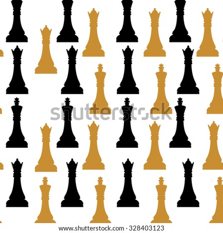 Chess game icon design, vector graphic eps10 - stock vector