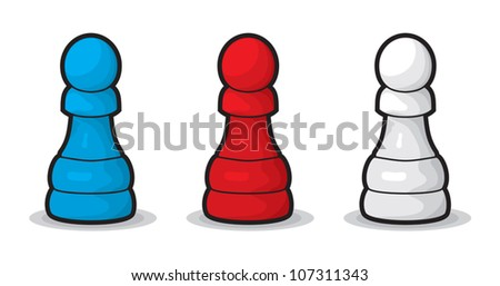 Chess  Pawn - stock vector