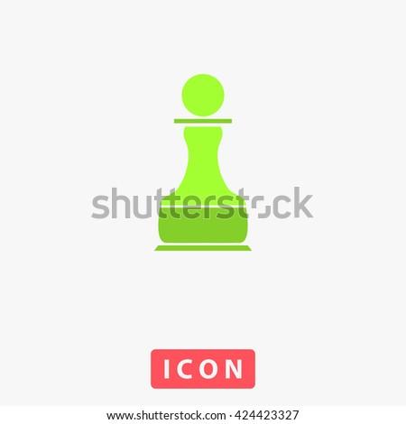 Chess Pawn Icon Vector. Chess Pawn Icon Logo. Chess Pawn Icon Picture. Chess Pawn Icon Image. Chess Pawn Icon Art. Chess Pawn Icon UI. Chess Pawn Icon EPS. Chess Pawn Icon AI. Chess Pawn Icon Drawing - stock vector