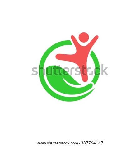 Child care logo template. - stock vector