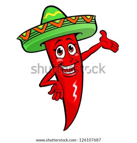 Chili Pepper eps10 file - stock vector