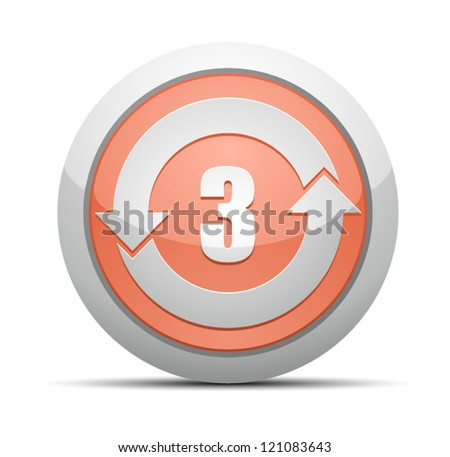 China RoHS Label EPUP 3 - stock vector
