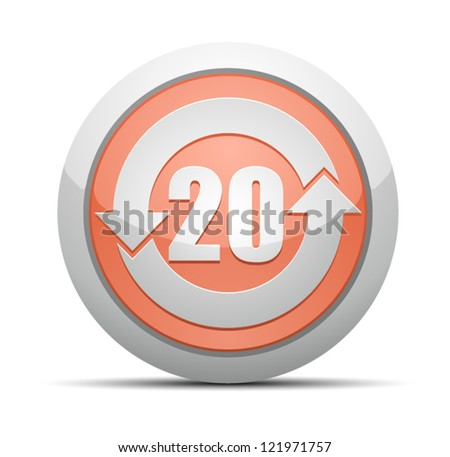 China RoHS Label EPUP 20 - stock vector