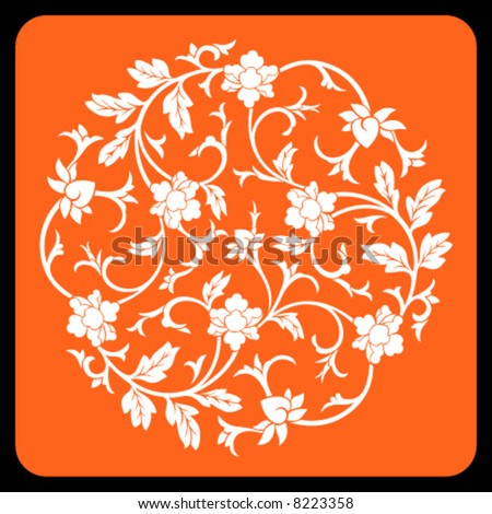 Chinese ornament - stock vector