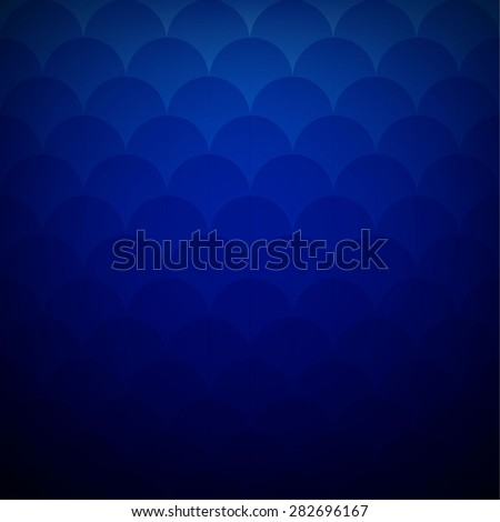 Chinese red texture ornament in the form of scales - stock vector