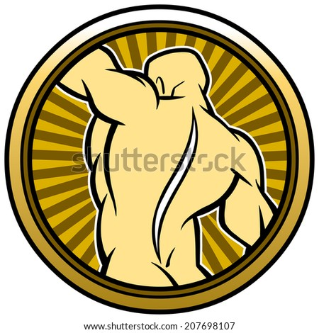 Chiropractor Seal - stock vector