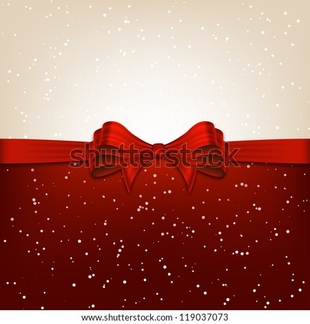 Chirstmas Card Background - stock vector