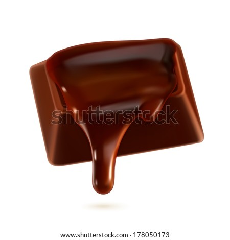 Chocolate, vector illustration - stock vector