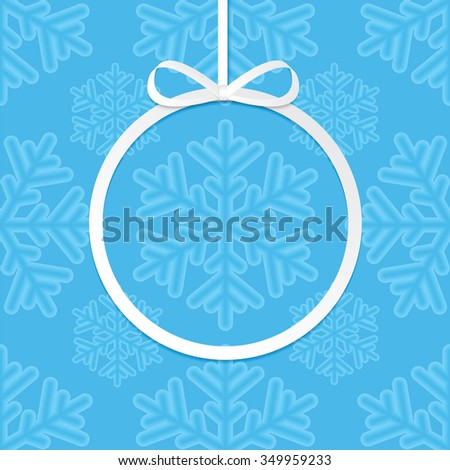 Christmas and New Year background with Christmas decorations .Poster for New Year with Christmas decorations .Postcard.Background for Christmas and New Year frame for your design - stock vector