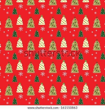 Christmas and Winter Holiday Background - stock vector