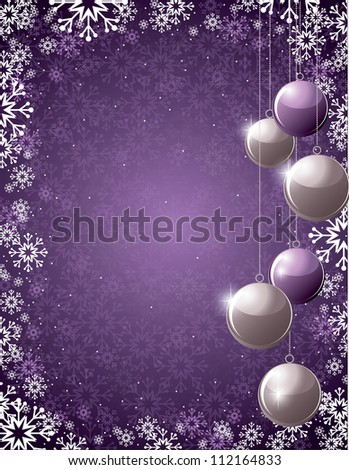 Christmas Background. Abstract Design. - stock vector