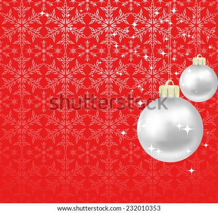 Christmas background, design holiday abstract decoration - stock vector