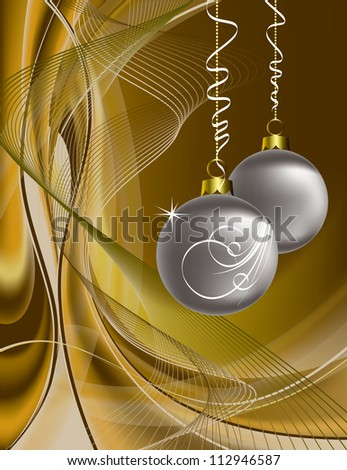 Christmas Background. Eps10 Design. - stock vector