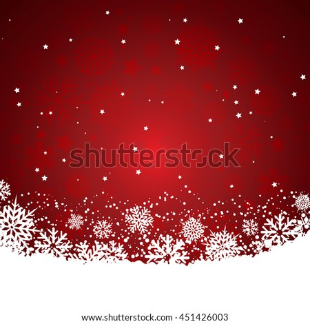 Christmas background red - stock vector
