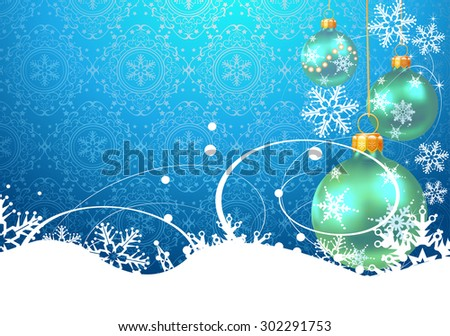 Christmas balls wallpaper christmas background, christmas decoration, christmas baubles  christmas card christmas day christmas decor christmas wallpaper new year christmas ornaments - stock vector