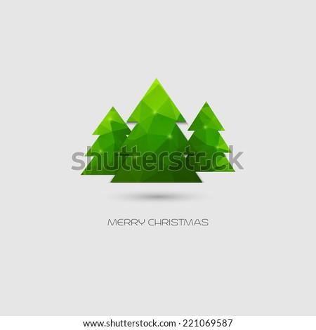 Christmas card - stock vector