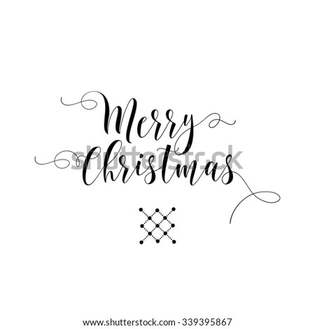 Christmas card. Christmas elements. Logo. Vector. - stock vector