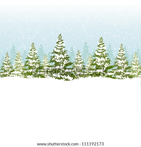 Christmas card. Eps8. - stock vector