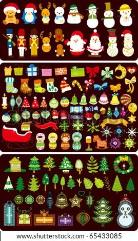 Christmas Design Elements - stock vector