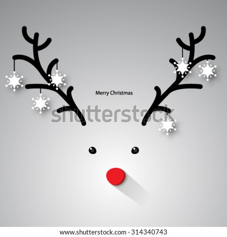Christmas Design with Clean Background - stock vector
