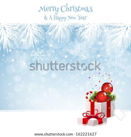Christmas Gift Christmas Present - stock vector