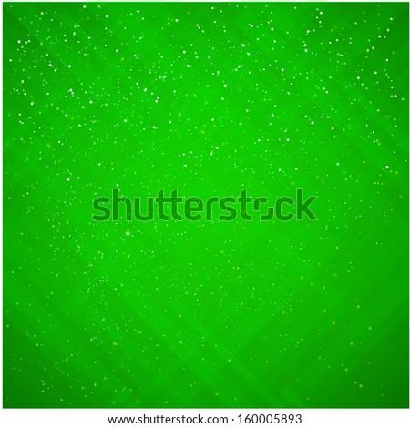 Christmas green applique background - stock vector