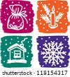 christmas pictures 2 - stock vector