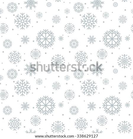 Christmas seamless pattern.  - stock vector