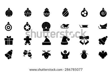Christmas Vector Icons 2  - stock vector