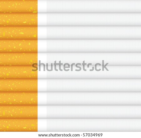 cigarettes pattern in vector - stock vector