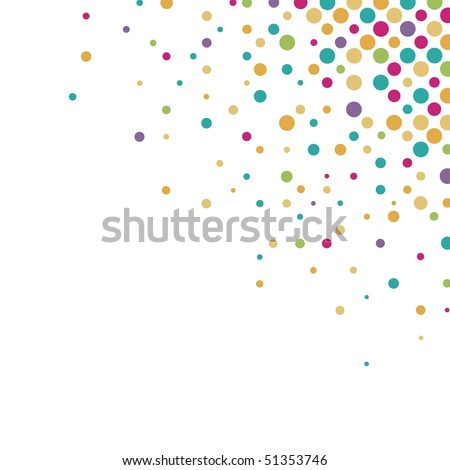 circle Background - stock vector