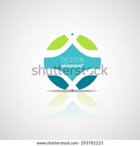Circle Logo Design template - stock vector