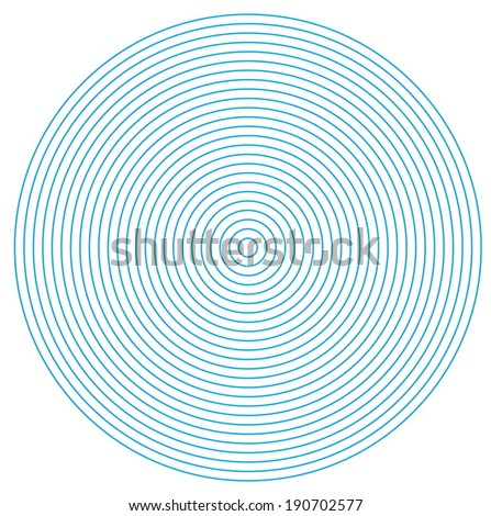 Circle pattern - stock vector