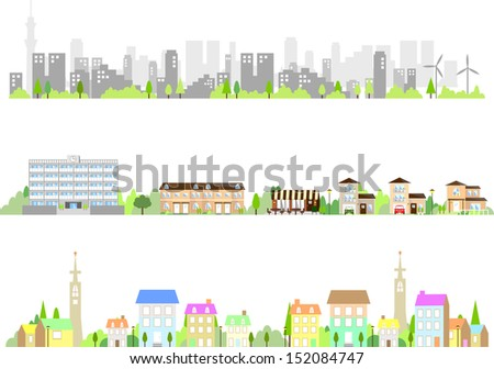 city - stock vector