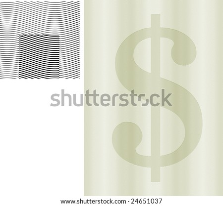 Classic guilloche background like those seen on diplomas, stock certificates, etc. For more see http://www.shutterstock.com/sets/7471-certificate.html?rid=116620 - stock vector