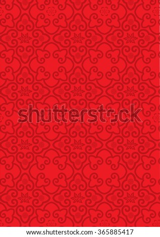 Classic Oriental Pattern - stock vector