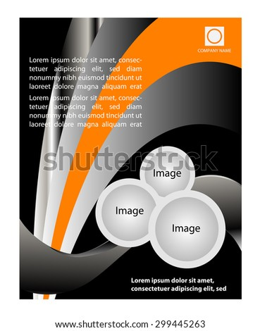 Clean background design with space for message  - stock vector