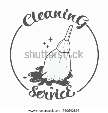 Cleaning Service - stock vector
