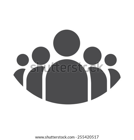Clients vector image to be used in web applications, mobile applications and print media. - stock vector