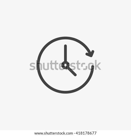 Clock Icon, Clock Icon Vector, Clock Icon Flat, Clock Icon Sign, Clock Icon App, Clock Icon UI, Clock Icon Art, Clock Icon Logo, Clock Icon Web, Clock Icon, Clock Icon JPG, Clock Icon EPS, Clock Icon - stock vector