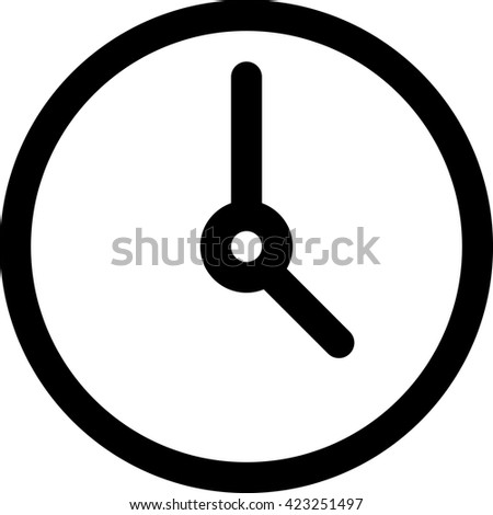 Clock Icon, Clock Icon Vector, Clock Icon Flat, Clock Icon Sign, Clock Icon App, Clock Icon UI, Clock Icon Art, Clock Icon Logo, Clock Icon Web, Clock icon Img, Clock Icon JPG, Clock, Clock Icon EPS - stock vector