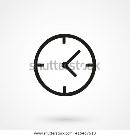 Clock Icon Vector. Clock Icon JPEG. Clock Icon App. Clock Icon Picture. Clock Icon Image. Clock Icon Graphic. Clock Icon Flat. Clock Icon JPG. Clock Icon EPS. Clock Icon AI. Clock Icon Drawing - stock vector
