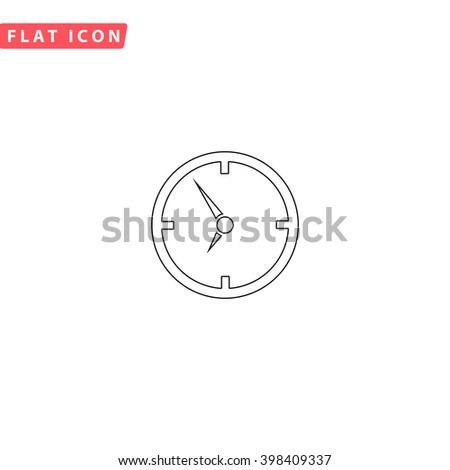 Clock Icon Vector. Clock Icon JPEG. Clock Icon Object. Clock Icon Picture. Clock Icon Image. Clock Icon Graphic. Clock Icon Art. Clock Icon JPG. Clock Icon EPS. Clock Icon AI. Clock Icon Drawing - stock vector