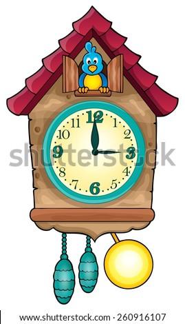 Clock theme image 1 - eps10 vector illustration. - stock vector