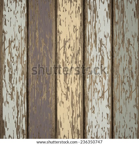 close-up look at retro wooden texture background  - stock vector