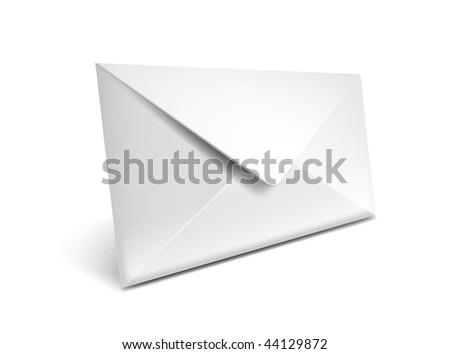 Closed envelope vector icon - EPS 10 - stock vector
