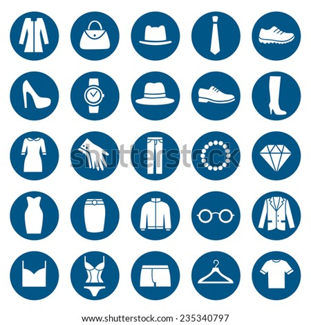 Clothing Store Icon. Vector - stock vector