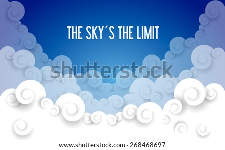 the sky is the limit essay The sky (or celestial dome) is everything that lies above the surface of the earth,  including the  except for light that comes directly from the sun, most of the light  in the day sky is caused by scattering, which is dominated by a small-particle limit .