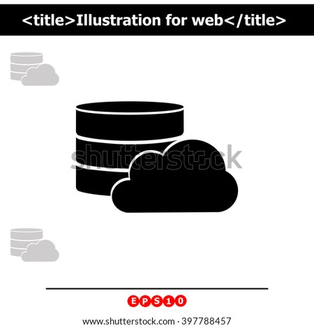 Cloud Icon. Cloud Icon Vector. Cloud Icon Object. Cloud Icon Picture. Cloud Icon Image. Cloud Icon JPG. Cloud Icon JPEG. Cloud Icon EPS. Cloud Icon Drawing. Cloud Icon Graphic. Cloud Icon AI. - stock vector